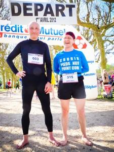 Les Foulées Meudonnaises 2012 10 kilomètres pieds nus - Photo Elisabeth Pascard