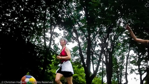 Animation Barefoot Trailball Issy-les-Moulineaux 15 juillet 2012