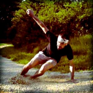 Karuiashi, coureur pieds nus