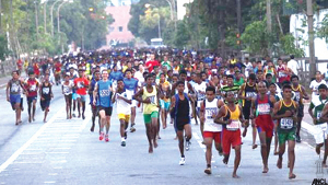 marathon de Colombo