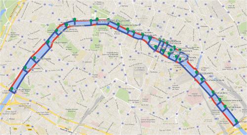 Les Ponts de Paris - Course endurance en Off @ Pont du Garigliano | Paris | Île-de-France | France