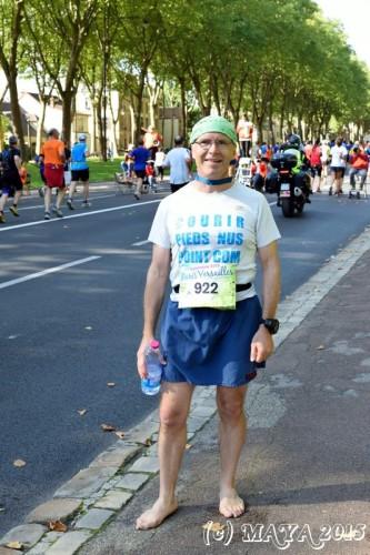 Christian Harberts à l'arrivée de Paris-Versailles 2015 - Photo Maya LeBlog