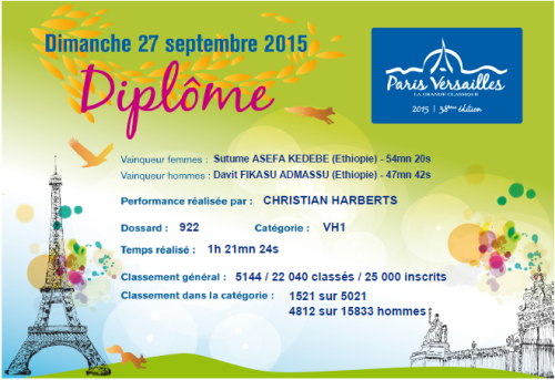 Paris-Versailles-2015 Pieds Nus - Christian Harberts